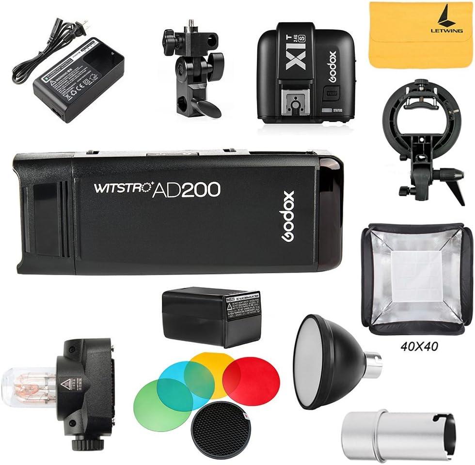 Godox Ad200 Ttl 2 4 G Hss 1 8000s Pocket Flash Light Kamera