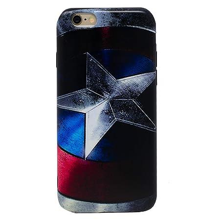 I-CHOOSE LIMITED Marvel IMD Estuche IMD (Tecnología de Decoración en Molde) para Apple iPhone 6s 6 (4.7