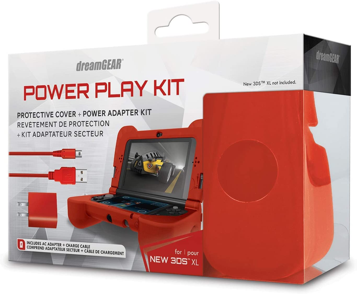 Amazon.com: dreamGEAR - Kit Power Play - Carcasa de silicona ...