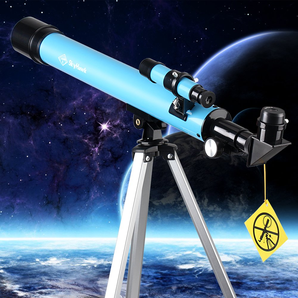 Telescope, AZ50600 Travel Refractor Telescope for Kids, Telescope Eyepieces and Tripod Enjoy Steady Observation of Astronomy