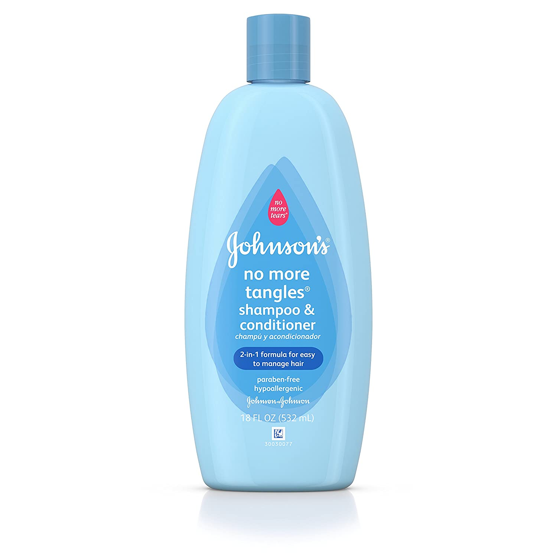 Amazon.com: Johnson\'s No More Tangles Extra Conditioning Shampoo ...