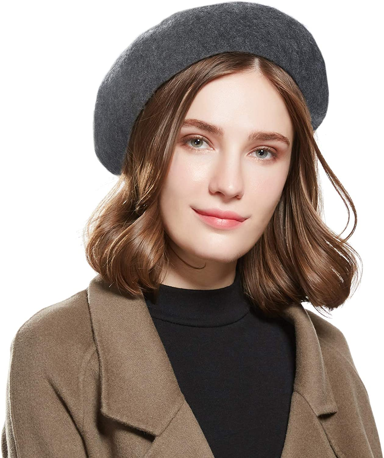 WELROG Wool French Beret...
