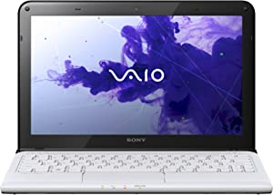 Sony VAIO E Series SVE11113FXW Laptop (Windows 7 Home, AMD E-Series Dual-Core E2-1800 1.7 GHz Processor, 11.6 inches Display, SSD: 500 GB, RAM: 4 GB DDR3) Seafoam White