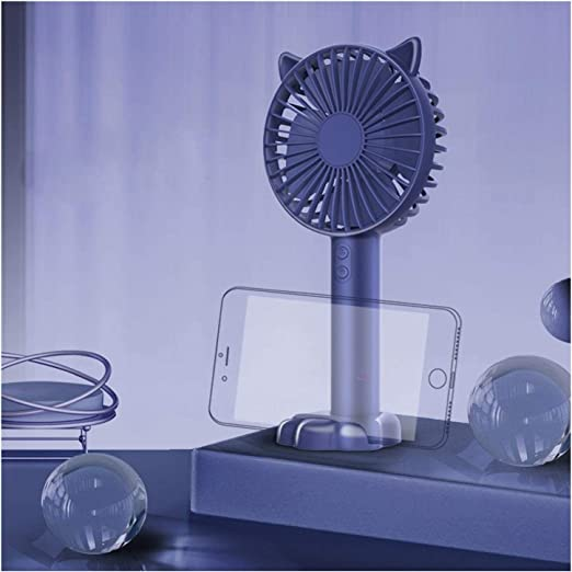 Abanico Mini ventilador de dibujos animados portátil usb ...