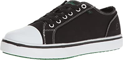 Canal Canvas Slip-Resistant Work Shoe