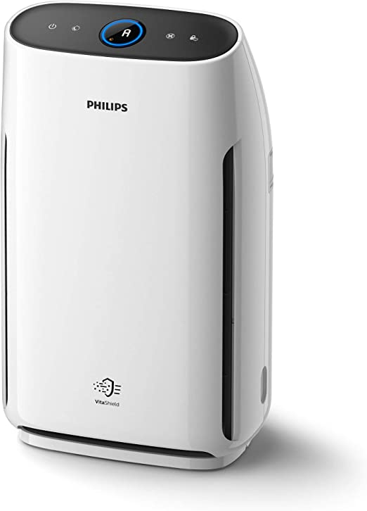 Philips 1000 series AC1217/10 - Purificador de aire (62 m², 1,8 m, 260 m³/h, China, ECARF, Blanco): Amazon.es: Hogar