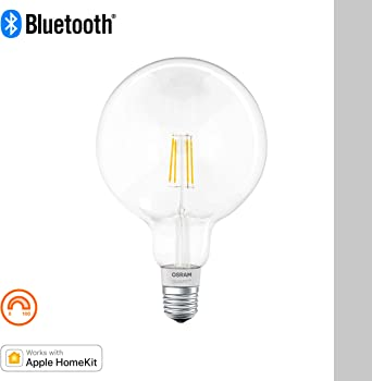 Osram Smart Bombilla Led Globo Filamento Regulable E27, 5.5 W ...