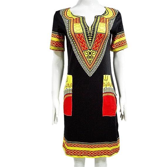 Amazon.com: Eloise Isabel Fashion dress vestidos femme mini vintage boho hippie plus size mulheres roupas casuais: Clothing