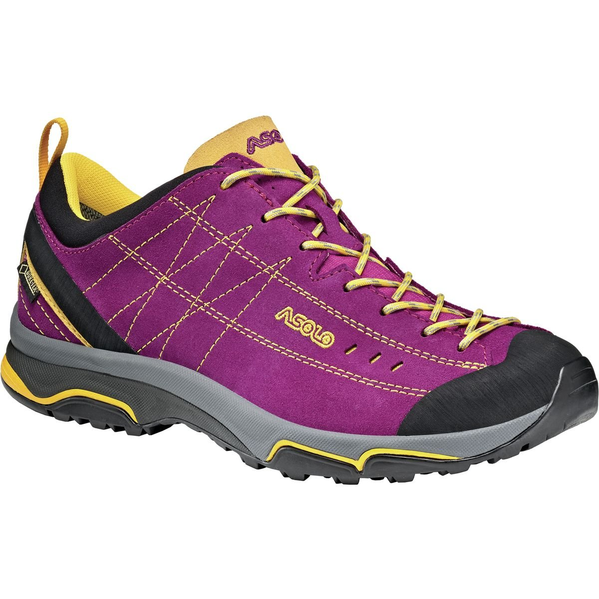 Asolo Women's Nucleon GV Hiking Shoes B00WE3V2NA 6.5 B(M) US|Verbena/Yellow