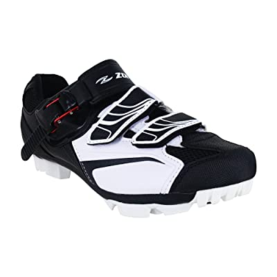 Zol White MTB Indoor Cycling Shoes: Shoes
