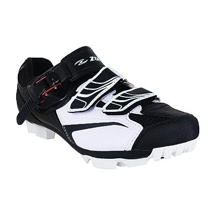 Zol Zapatillas para ciclismo de montaña y en pista; color blanco., Blanco (