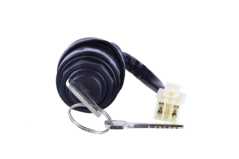 Ignition Key Switch Control Lock 4 Wire 2 Keys For Polaris Trail Boss 250 1993 1994 1995