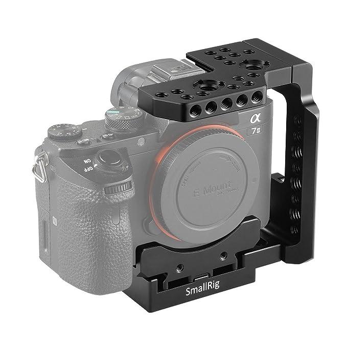 SMALLRIG Jaula para Sony A7III / A7RIII / A7II / A7RII / A7SII ...