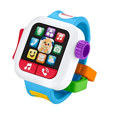 Fisher-Price GJW17 Laugh & Learn Time to Learn Smartwatch, Musical Baby Toy, Multicolor: Toys & Games