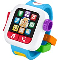Fisher-Price GJW17 Fisher-Price Laugh & Learn Time to Learn Smartwatch Toy, Multi