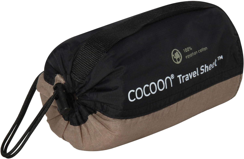 Cocoon S/ábana de Viaje de algod/ón Egipcio