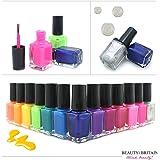 Set de 24 Esmalte de uñas 24 colores diferentes Botella moderna de 6 ML