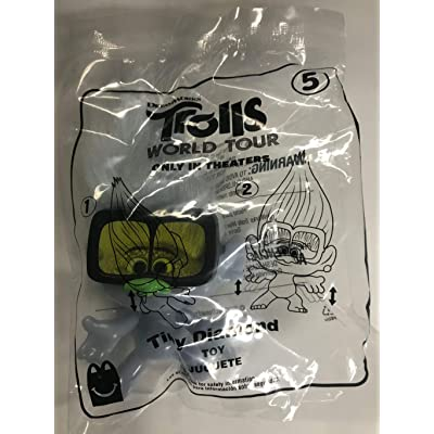 McDonald's 2020 Trolls World Tour Happy Meal Toy #5 Tiny Diamond: Toys & Games