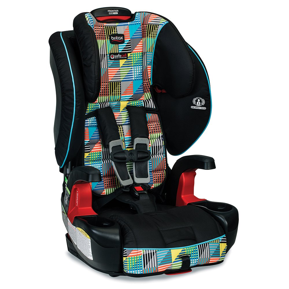 Britax Frontier Clicktight Combination Harness-2-Booster Car Seat, Vector