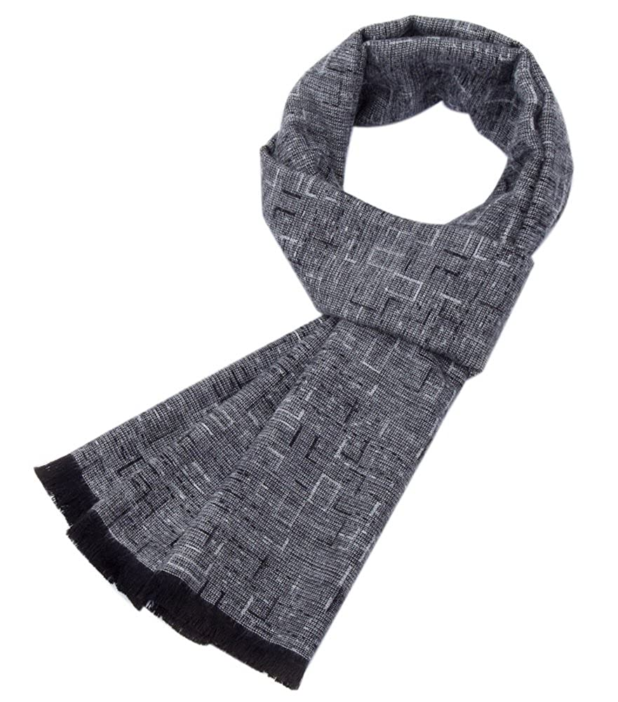 Autumn And Winter Simple Warm Long Scarves Fashion Gray