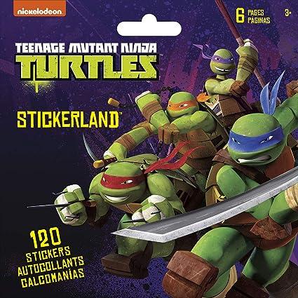 Stickerland Stickers Nickelodeon Teenage Mutant Ninja ...