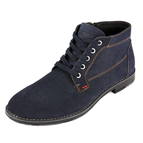 Amazon.com | gracosy Mens Desert Boots, Mens Classic Handmade High Top Lace up Chukka Boot Suede Casual Shoes | Chukka
