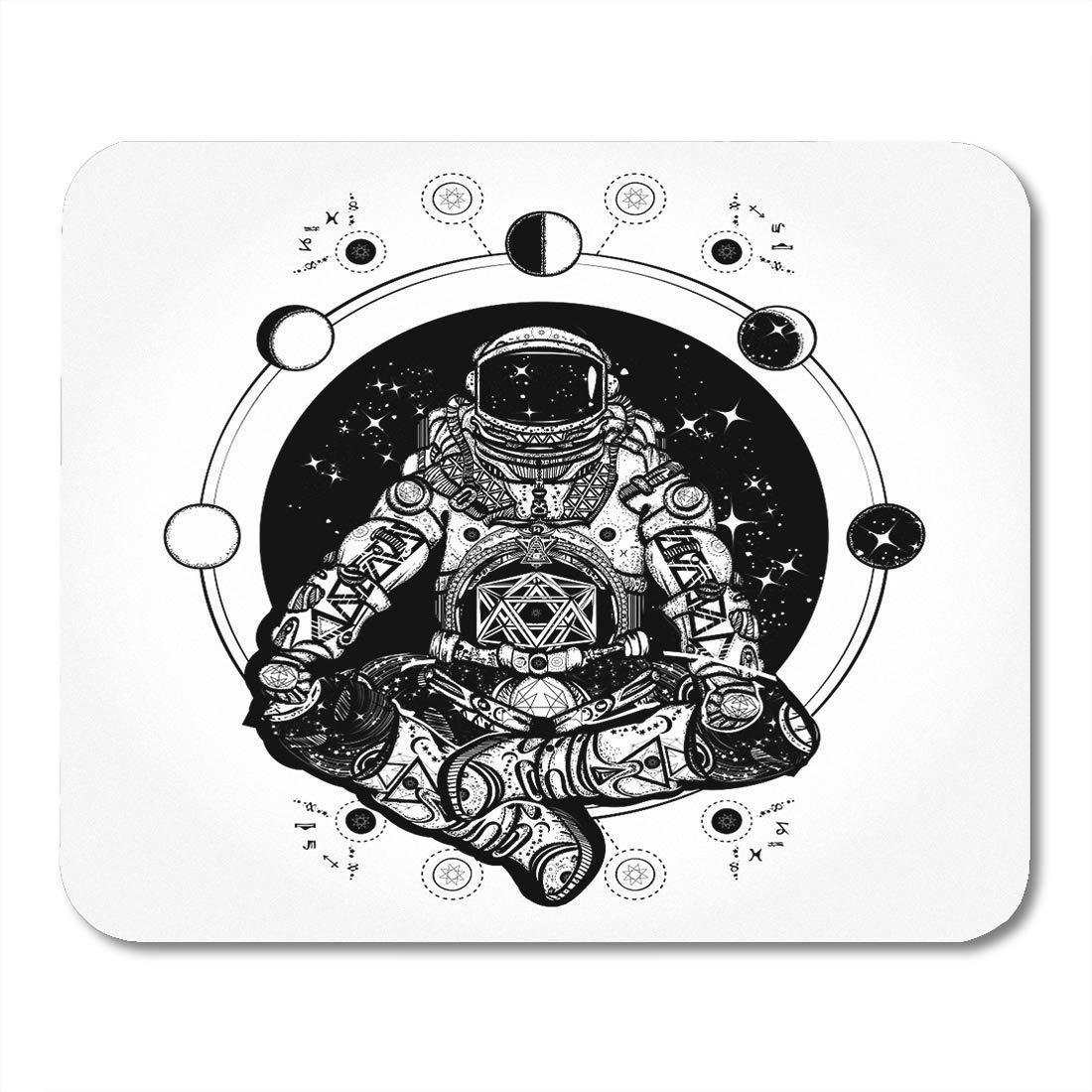 Yanteng Astronauta en la posición de Loto Tatuaje y Astronauta ...