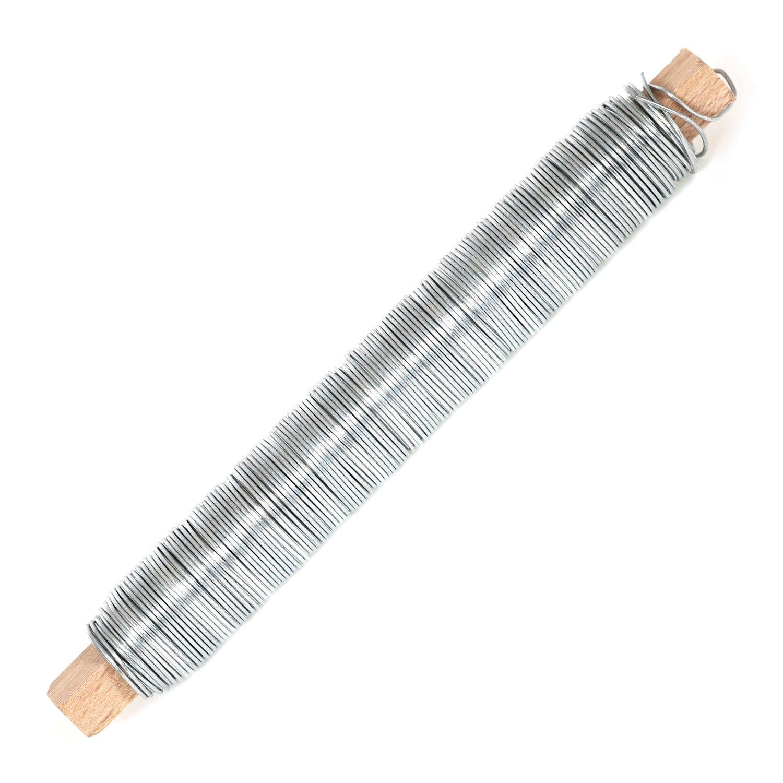 Wickeldraht 100g 0,65mm geglüht blau