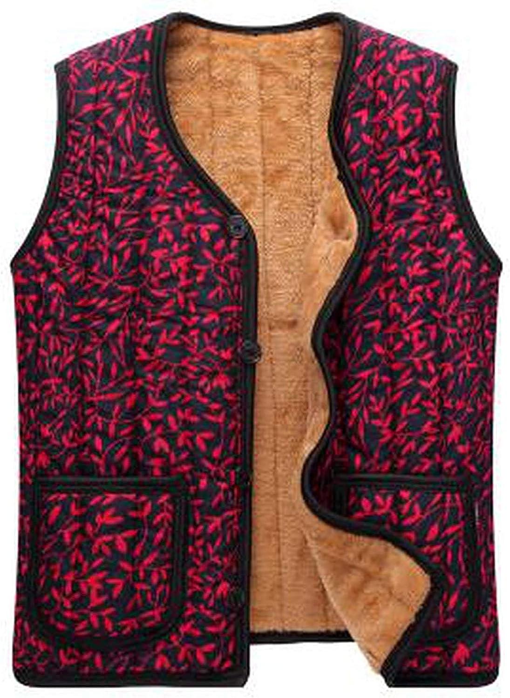 Damen-Winterweste, dicke Baumwolle, für warme Kleidung