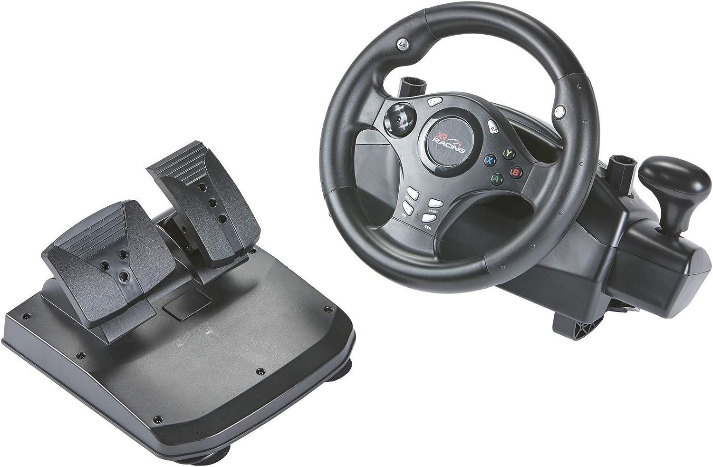 XR Steering Wheel (PS4, Xbox One, Nintendo) [Importación inglesa ...