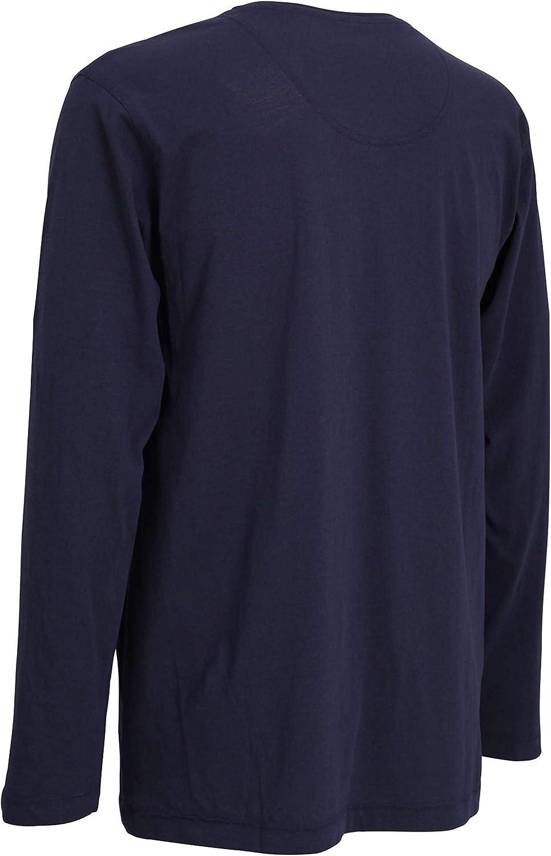 Tom Tailor Mens T-Shirt Blue Plain Pack of 1