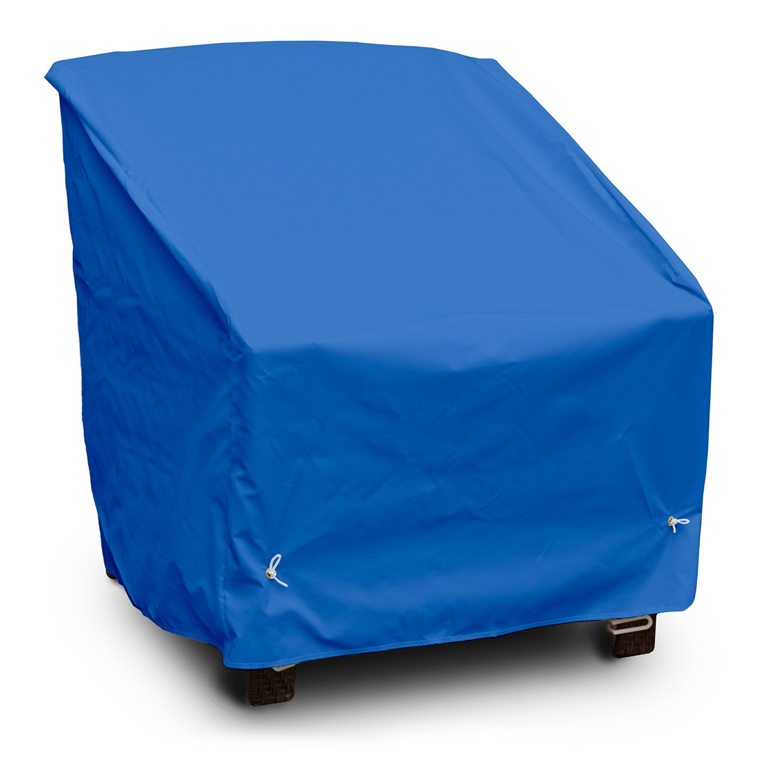 KoverRoos Weathermax 06250 Deep Seating High Back Chair Cover, 34-Inch Width by 35-Inch Diameter by 37-Inch Height, Pacific Blue