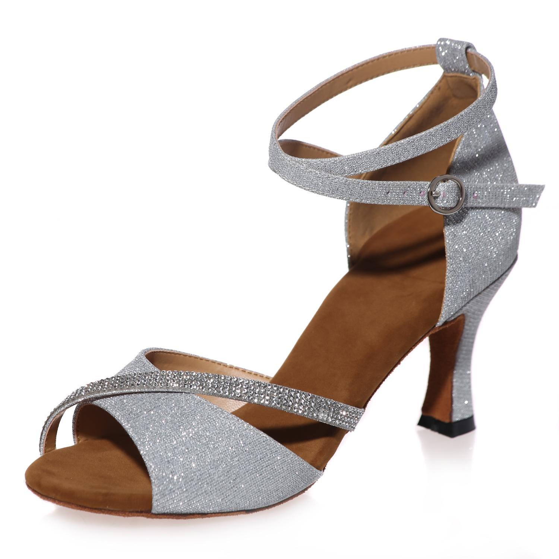 Frauen-Tanz-Schuh-Praxis-Leder-Sandelholz-Wölbungs-Starke mit mit mit Gewohnheit Mehrfarben B078749VSN Tanzschuhe Haltbarkeit 978d95