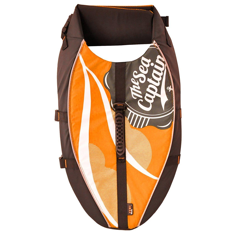 Wacky Paws Life Vest, X-Large, Orange