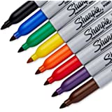 Sharpie Permanent Marker Fine Tip [30217PP] 8 Count (Pack of 3) 24 Markers Total