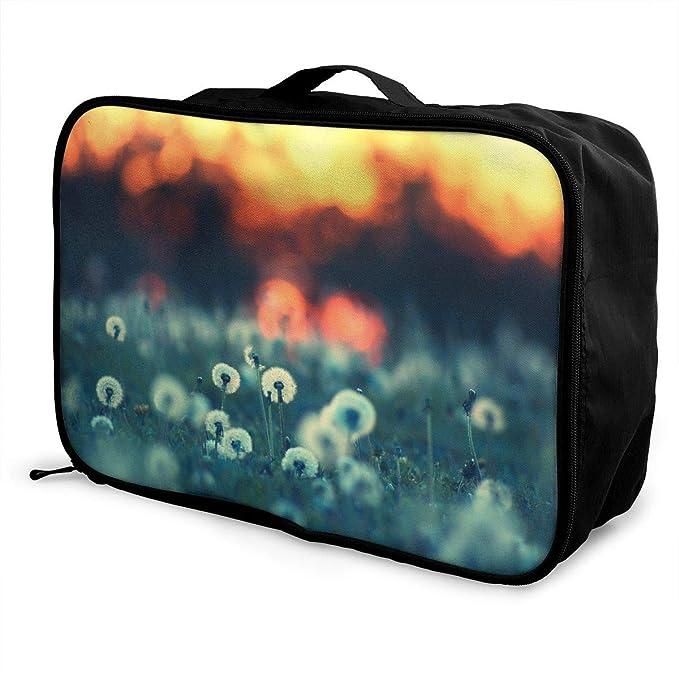 d3ec0c5a1c79 Amazon.com: Mintslove Fashion Portable Luggage Bag Cool Dandelion ...