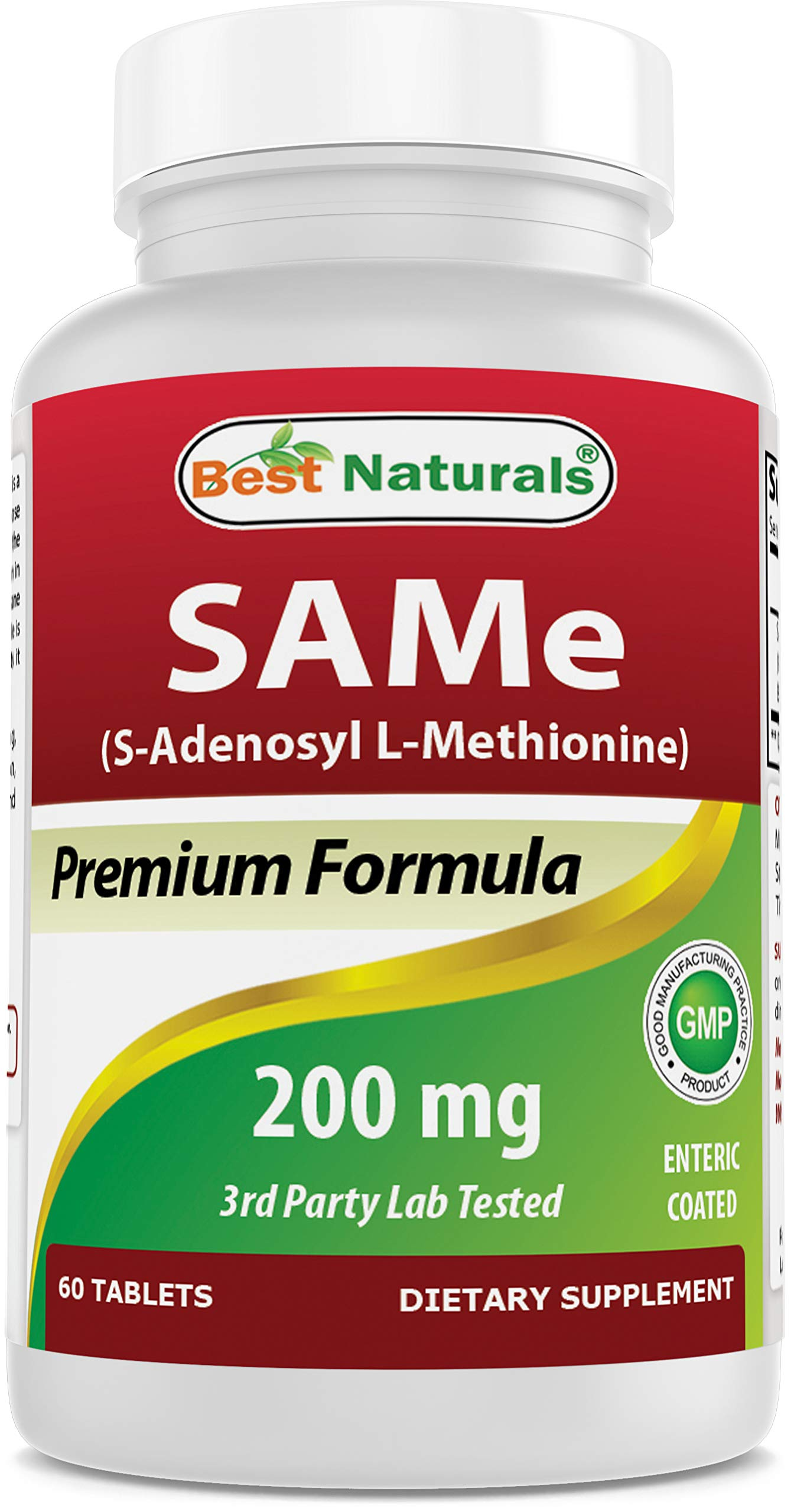 Best Naturals Sam-e Enteric Coated 200 mg 60 Tablets
