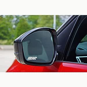 Autodomy Pegatinas Compatible con BMW M Corazón Pack de 6 Unidades en Vinilo ácido para los Espejos del Coche: Amazon.es: Coche y moto