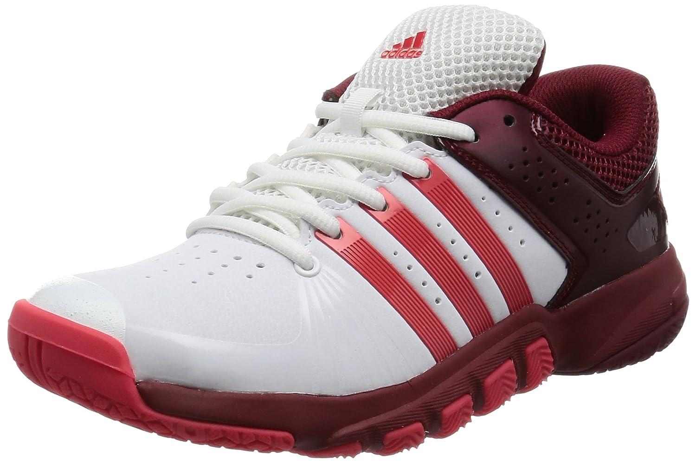 [アディダス] テニスシューズ Quickforce 5.1 W レディース B01N5OPUPH ランニングホワイト/コアピンク S17/カレッジエイトバーガンディ 23.0 cm