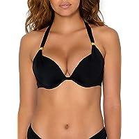 Smart & Sexy Women's Swim Secret Mega Push-up Halter Bikini Top