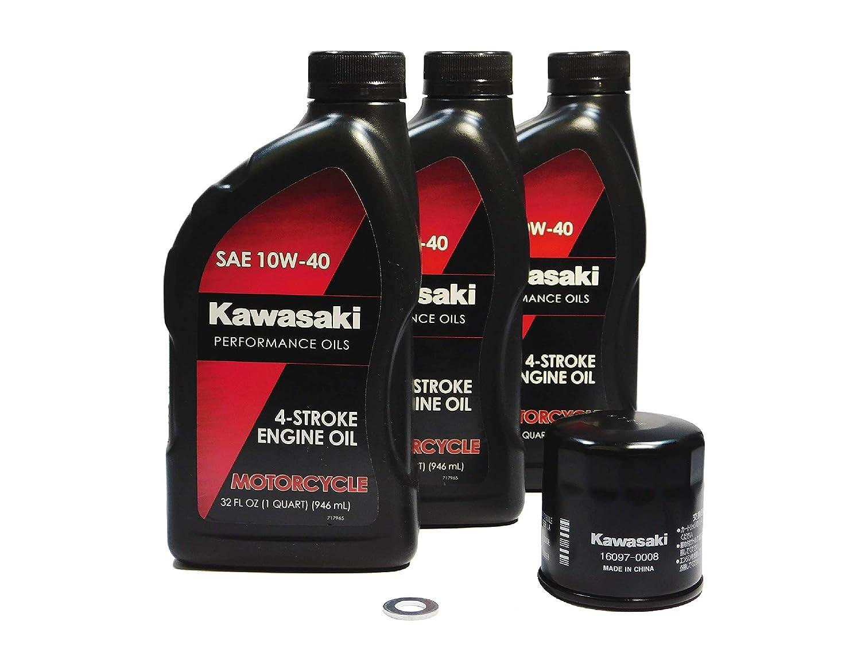Kawasaki Versys-X 300 KLE300 Versys-X 300 ABS OEM Oil Change Kit