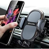 DesertWest Air Vent Cell Phone Holder for Car, 2020 Upgrade Universal Car Phone Mount, Cradle Compatible with iPhone SE 11 Pro Max XR XS X, Samsung Galaxy S20 S10+ S10 S9 Note 10 LG Google Pixel More