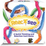 ReactSee Card Family Games - Fun Party Game for Kids Teens and Adults