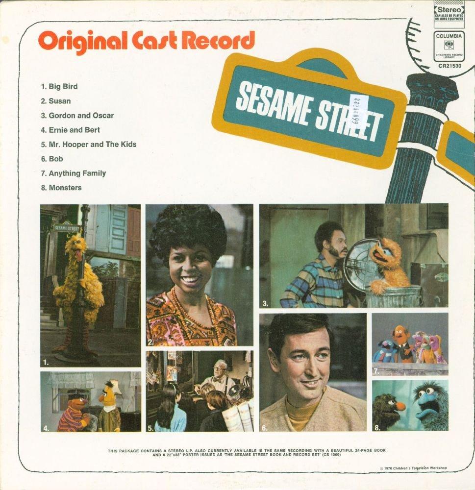 The Sesame Street Record Original Cast