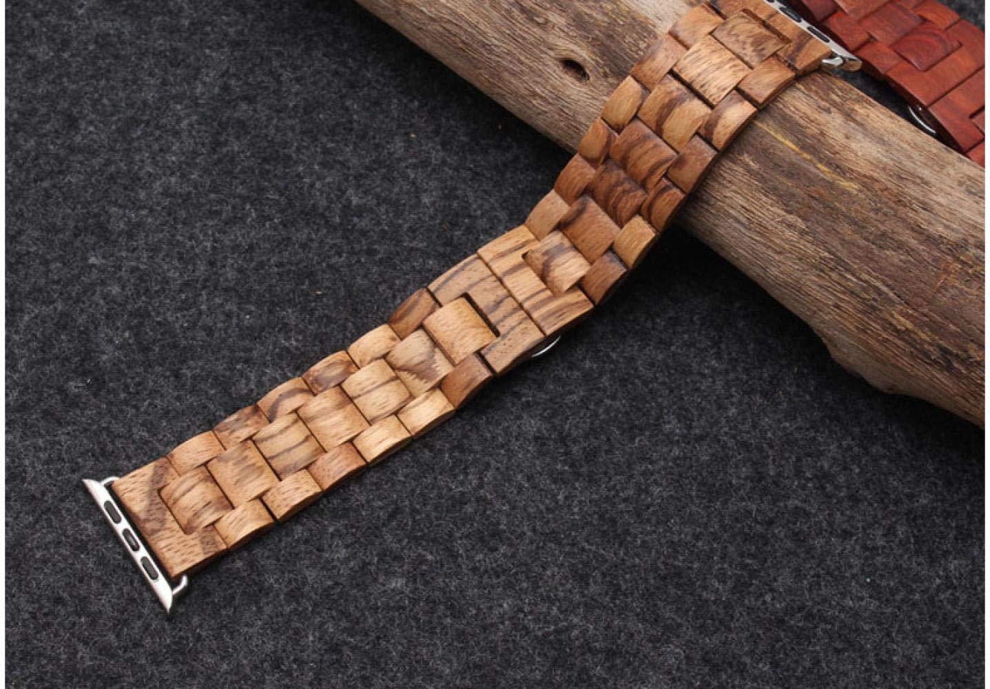 for Apple Watch Band Wrist Watch Strap 4series Watch Strap 38mm/40mm Watch Strap 42m/44mm for Apple Watch Band 42 Apple Watch Band for Series 1 2 3 4 Wrist Band Watch Holder (Light Brown, 38mm40mm)