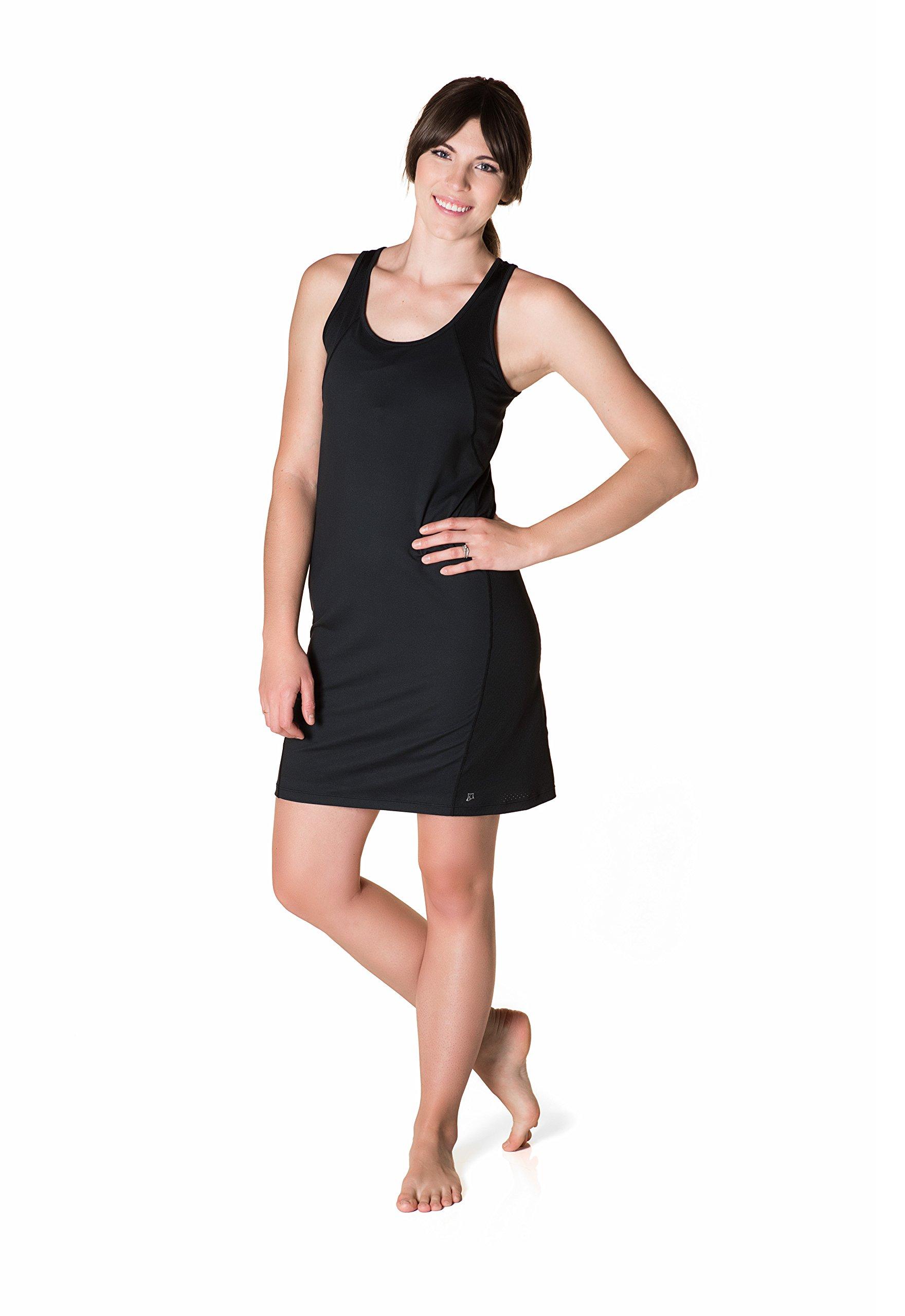 Skirt Sports Womens Take Five Dress, Black, SM