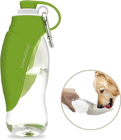 Portable Pet Water Bottle by LumoLeaf