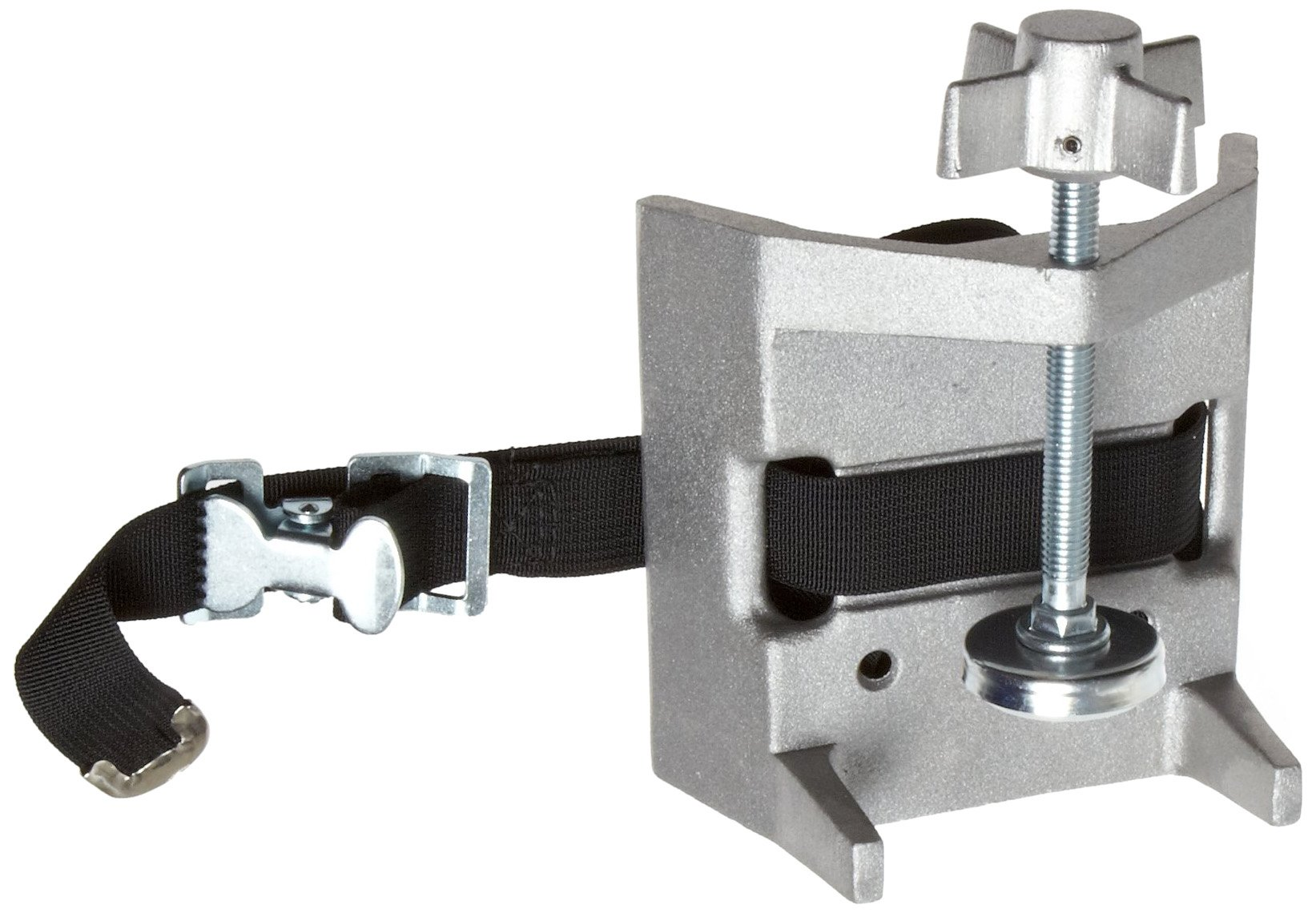 Talboys 711 Aluminum Cylinder Bench Clamp with Strap, 3.25'' Length x 5.25'' Width x 6.5'' Height