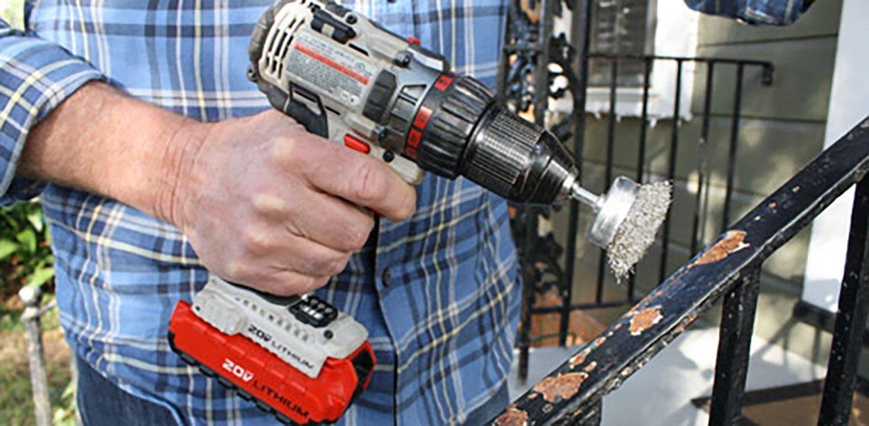 Century Broca y herramienta 76211 Cepillo de alambre de corte grueso, 1-3 / 4 pulgadas - - Amazon.com