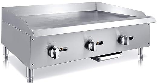 Amazon.com: Chefs Exclusivo CE787 - Rejilla de acero ...